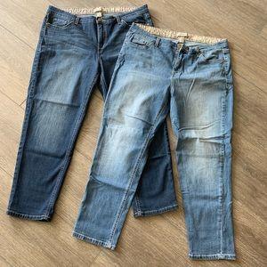 Vintage America boyfriend jeans size 12/31